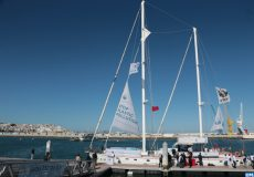 le voilier Blue Panda fait escale à Tanger