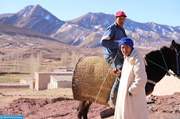 des jeunes à Ai Daoud (Essaouira) au chevet des démunis