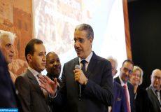Intervention du ministre de l'Energie, des Mines et de l'Environnement, M. Aziz Rabbah lors de la journée Nationale du Patrimoine Géologique du Maroc. 22112019 - Rabat