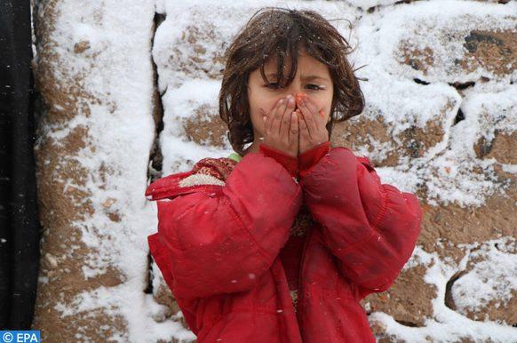 intempéries hivernales en Afghanistan