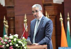 """Allocution, mercredi (02/10/19) à Rabat, du ministre de l'Énergie, des mines et du développement durable, M. Aziz Rabbah, lors de l'ouverture de la 8-ème Conférence islamique des ministres de l'Environnement, organisée sous le thème: """"Rôle des facteurs culturels et religieux dans la protection de l'environnement et le développement durable"""""""