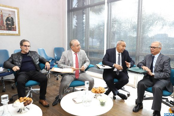 réunion de la CSMD avec les représentants de la FECAM
