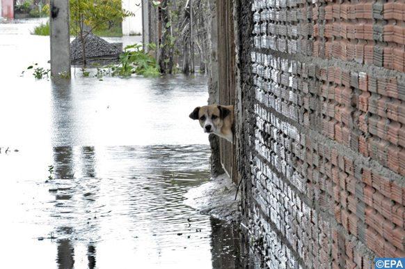 éventuelles inondations