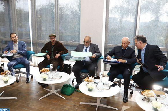 séance d'écoute des représentants du parti de la Gauche Verte avec la CSMD