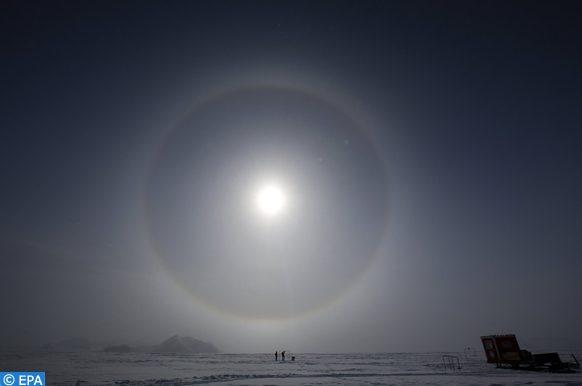 couche d'ozone en hausse