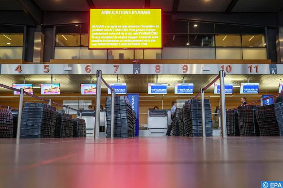 l'aéroport de Charleroi