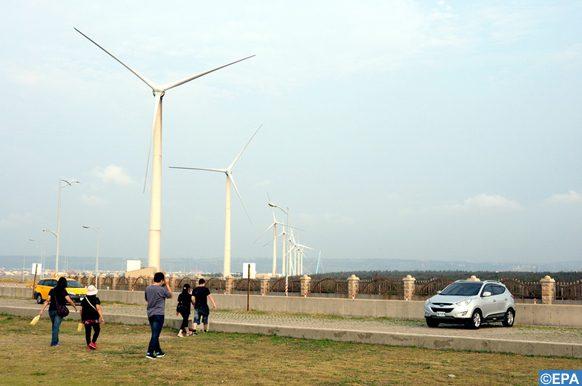 nouveau parc éolien