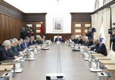 Réunion du Conseil de gouvernement sous la présidence du Chef du gouvernement, M. Saad Dine El Otmani. 20022020-Rabat