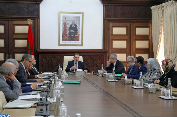Réunion du Conseil de gouvernement sous la présidence du Chef du gouvernement, M. Saad Dine El Otmani. 06022020 – Rabat