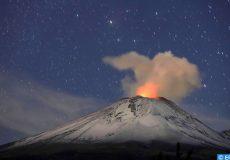 nouvelle éruption