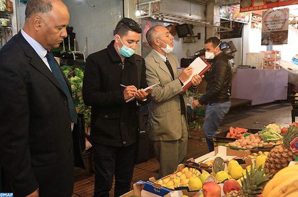 le smarchés de Marrakech (infractions constatées)