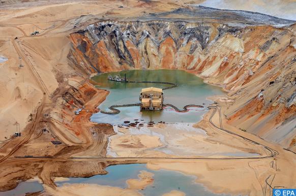 production minière